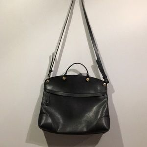 Never Used! Furla Large Satchel in Onyx